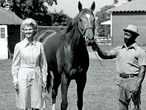 Penny Chenery with Secretariat