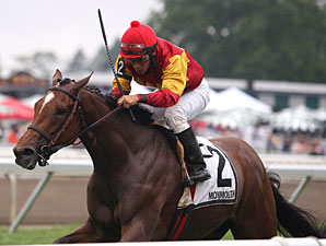 Senator Beck wins the 2012 Desert Vixen Stakes.