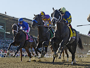 Shanghai Bobby wins the Breeders' Cup Juvenile.