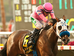 She's a Tiger wins the 2013 Del Mar Debutante.