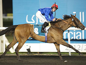 Shuruq wins the 2013 UAE Oaks.