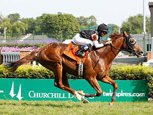 Simmard wins the 2012 Louisville Handicap.