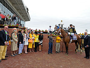 Skyring wins the 2013 Dixie Stakes.