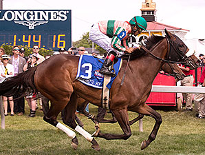 Somali Lemonade wins the 2014 Gallorette.