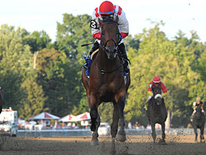 Spurious Precision wins the Saratoga Special.