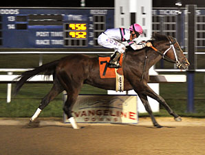 Star Guitar wins the 2011 Evangeline Mile.