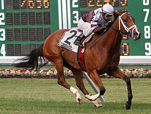 Starfish Bay wins the 2010 Candy Eclair Stakes.