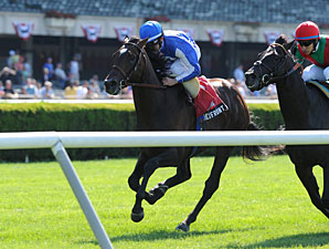 Summer Front wins the 2012 Hill Prince.