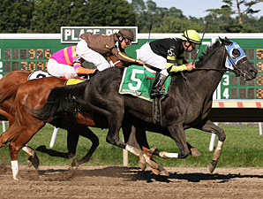 Sunday Geisha #5 with Joe Bravo riding won the Trenton Stakes at Monmouth Park in Oceanport, N.J. on Sunday September 13, 2009.