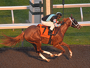 Super Sky wins at Keeneland 10/5/2013.