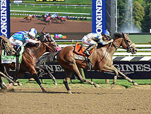 Sweet Reason wins the 2014 Test Stakes.