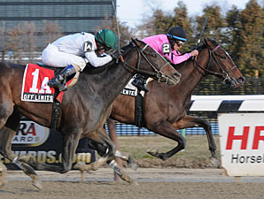 Sweet Seventeen wins the 2012 Busher.