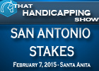 That Handicapping Show: The San Antonio
