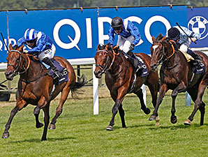 Taghrooda wins the 2014 King George VI And Queen Elizabeth Stakes.