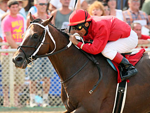 Tapizar wins the 2012 West Virginia Governor's Stakes.