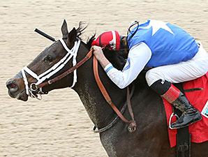 Tepin wins the 2013 Delta Downs Princess.