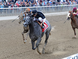 The Lumber Guy wins the 2012 Vosburgh.