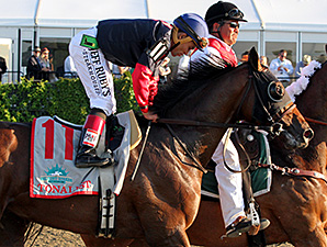 Tonalist in the Belmont Stakes.