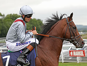 Toronado wins the Sussex Stakes at Goodwood.
