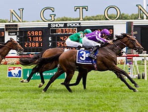 Treasure Beach wins the 2011 Secretariat.