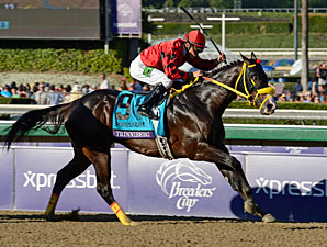 Trinniberg wins the 2012 Breeders' Cup Sprint.