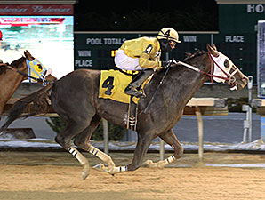 Twin Engine wins the 2015 Blue Ridge Handicap.