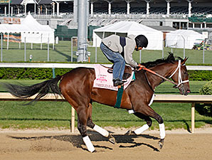 Unbridled Forever - Churchill Downs, April 23, 2014.