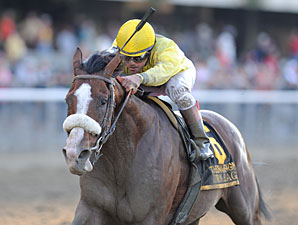 Union Rags wins the 2011 Champagne.