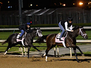 Unlimited Budget works with Silsita at Churchill Downs