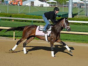 Unlimited Budget - Churchill Downs, April 26, 2013.