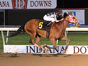 Unreachable Star wins the 2011 William Henry Harrison Stakes.