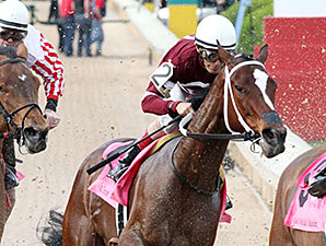 Untapable wins the 2015 Apple Blossom.