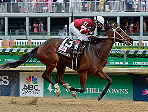 Untapable wins the 2014 Kentucky Oaks