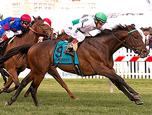 Utley wins the 2014 Dixie Stakes.