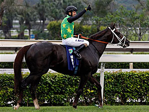 Variety Club wins the Champions Mile at Sha Tin.