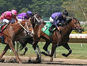 Vengeful Wildcat breaks maiden at Monmouth on July 5, 2010.