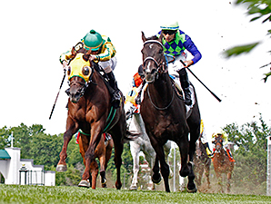 War Dancer wins the 2014 Louisville Handicap.