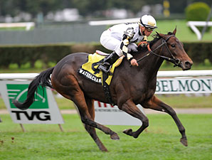 Watsdachances wins the Ms. Grillo Stakes.