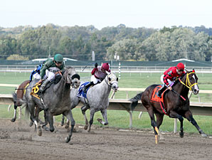 Well Spelled wins the 2012 Gallant Bob Stakes.