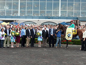 Went the Day Well wins the 2012 Spiral Stakes.