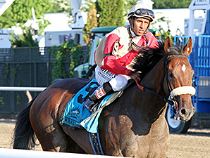 Wicked Strong in the Belmont Stakes.