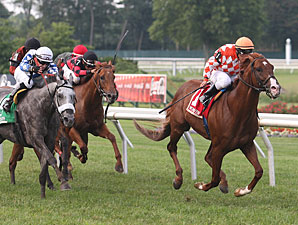 Wicked Tune wins the 2013 My Frenchman Stakes.