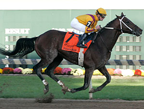 Wilburn wins the 2011 Indiana Derby.
