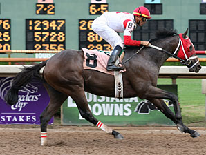 William's Kitten wins the 2009 Sunday Silence. Photo by Lou Hodges Jr.