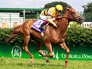 Wise Dan wins the Firecracker Handicap.