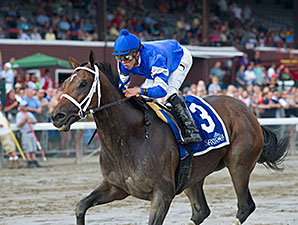 Antipathy wins the Shuvee Handicap 7/27/2014.