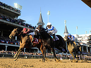 Dakota Phone winning the 2010 BC Dirt Mile.