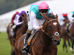 Frankel wins the 2012 Queen Anne.