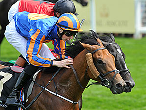 Gale Force Ten wins the Jersey Stakes.