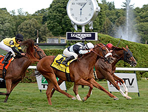 Main Sequence wins the Sword Dancer Stakes.